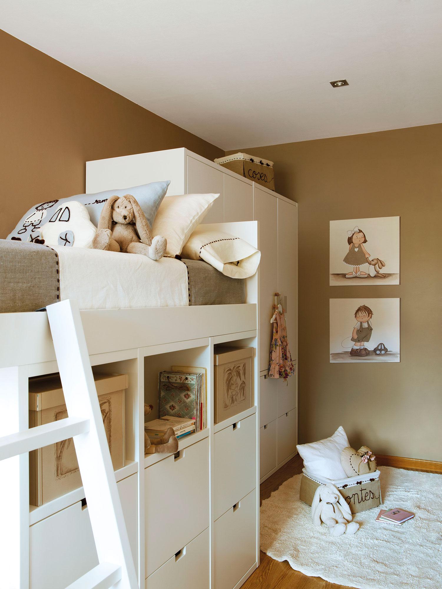 2 habitaciones infantiles bien aprovechadas que - Decoracion infantil habitacion ...