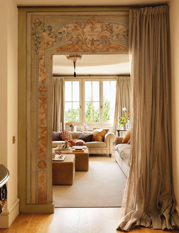 Un plus de nobleza en un piso de madrid for Decoracion piso en madrid