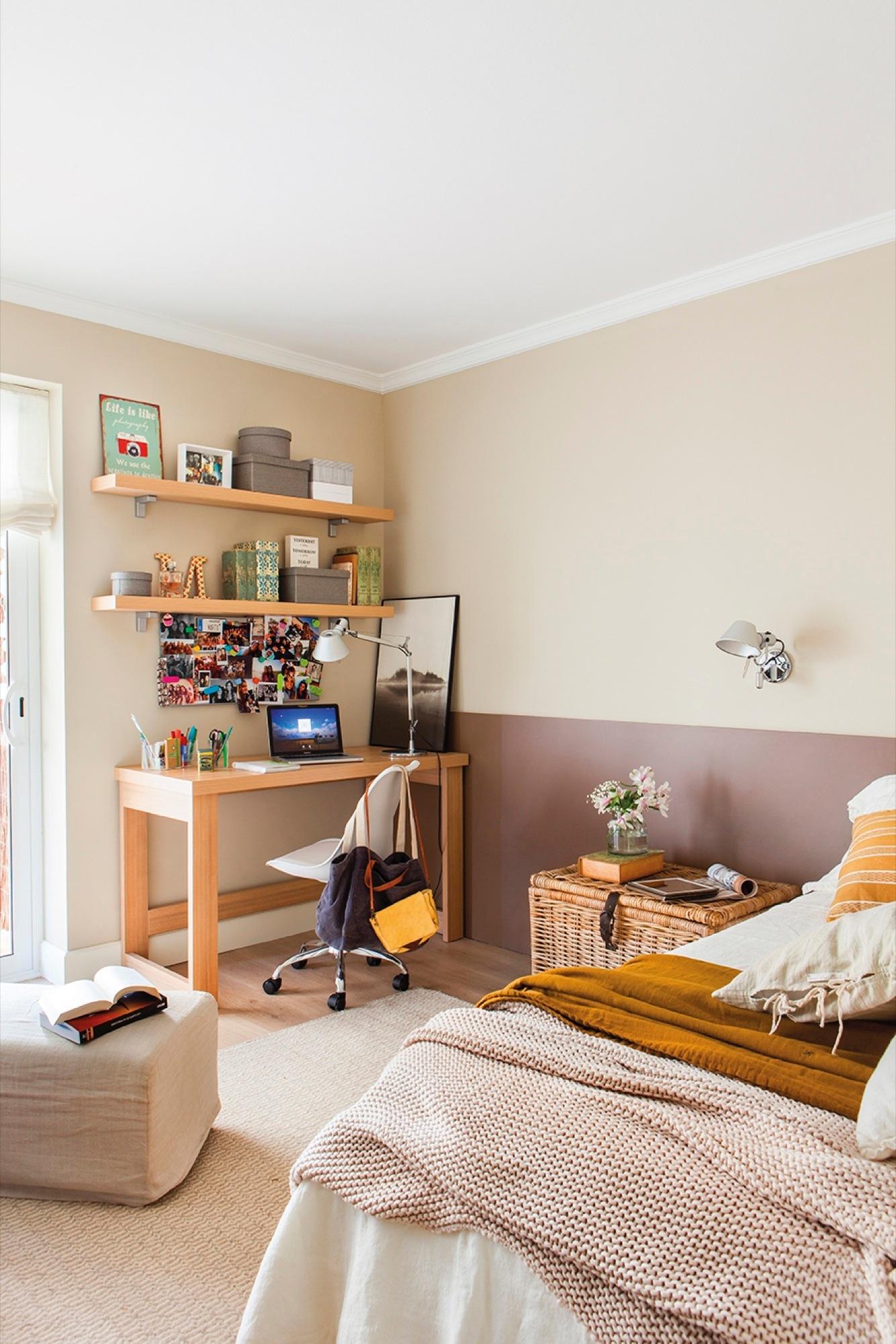 Ideas para reutilizar muebles la casa de una lectora - Puff de mimbre ...