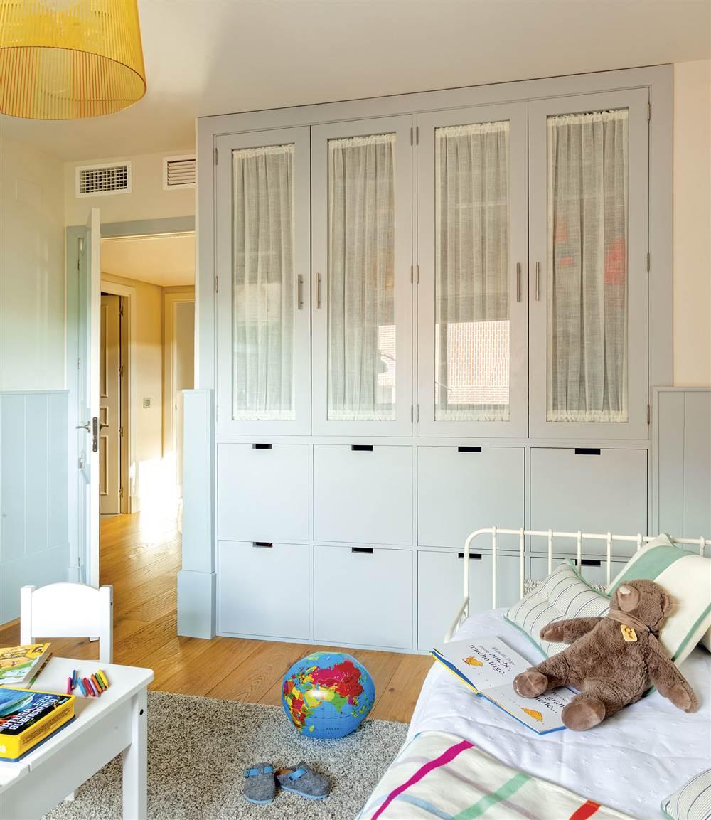 7 armarios para el dormitorio pr cticos y decorativos - Armarios de obra ...