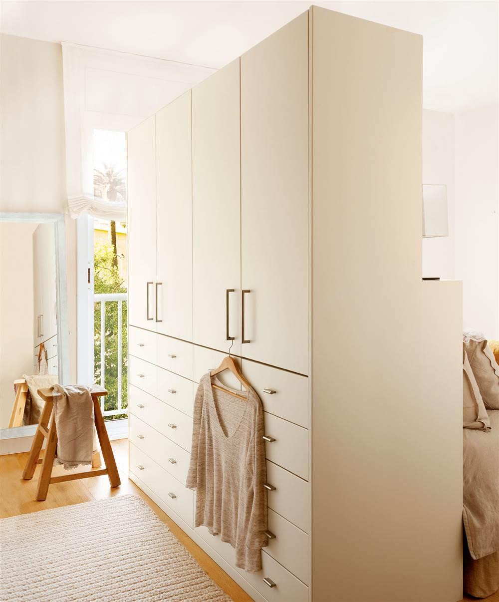 7 armarios para el dormitorio pr cticos y decorativos - Armario de pared ...