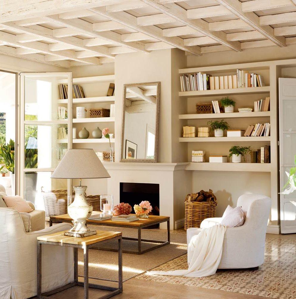 techo si tu piso tiene una altura normal apuesta por pintarlo del mismo tono que la pared o un punto ms claro segn aconseja laura ehlis para ganar