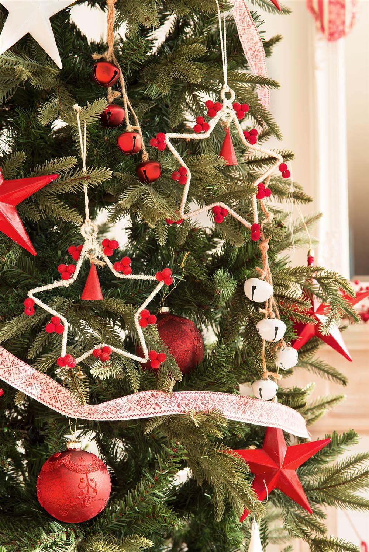 Ideas para decorar el rbol de navidad 3 rboles 3 estilos for Fotos decoracion navidad