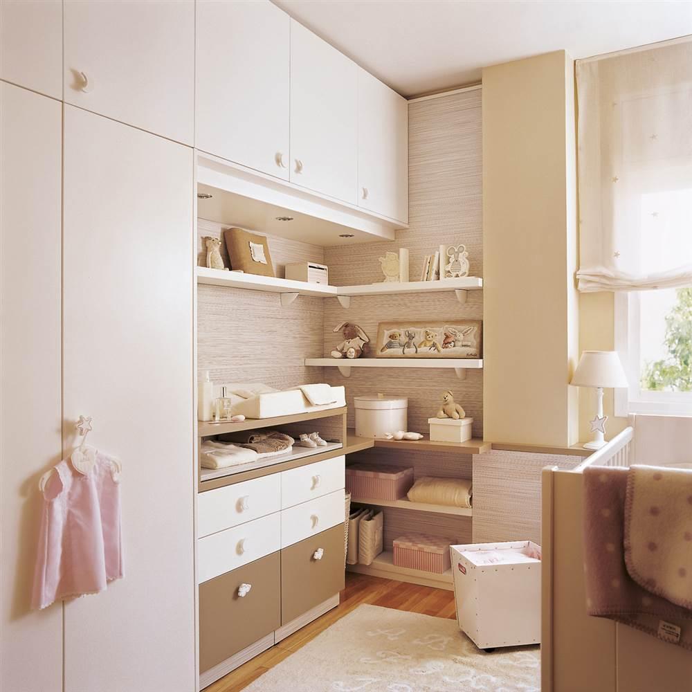 Soluciones de almacenaje en la habitaci n de los ni os - Armarios de bebes ...