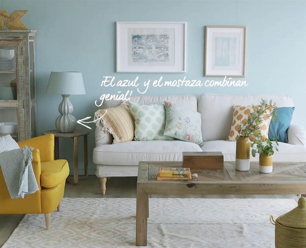 Un salón a todo color