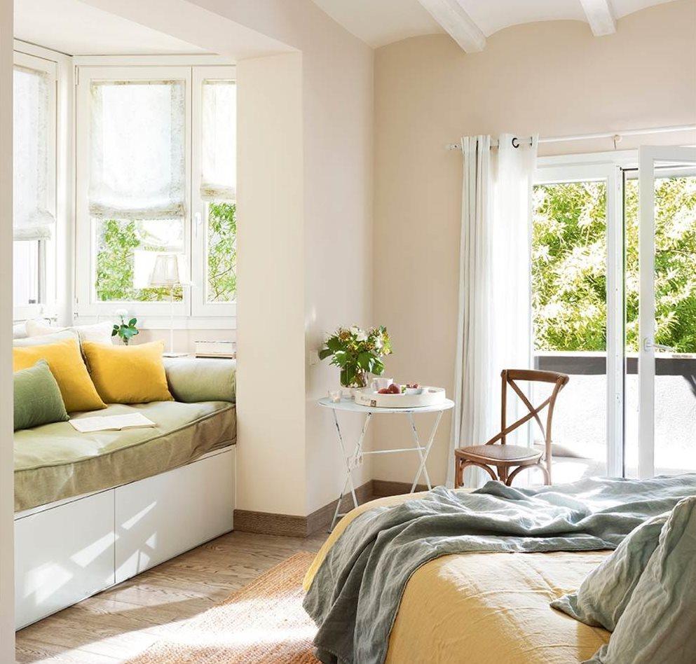 Ideas 2 x 1 muebles a medida bajo la ventana - Sofa dormitorio ...