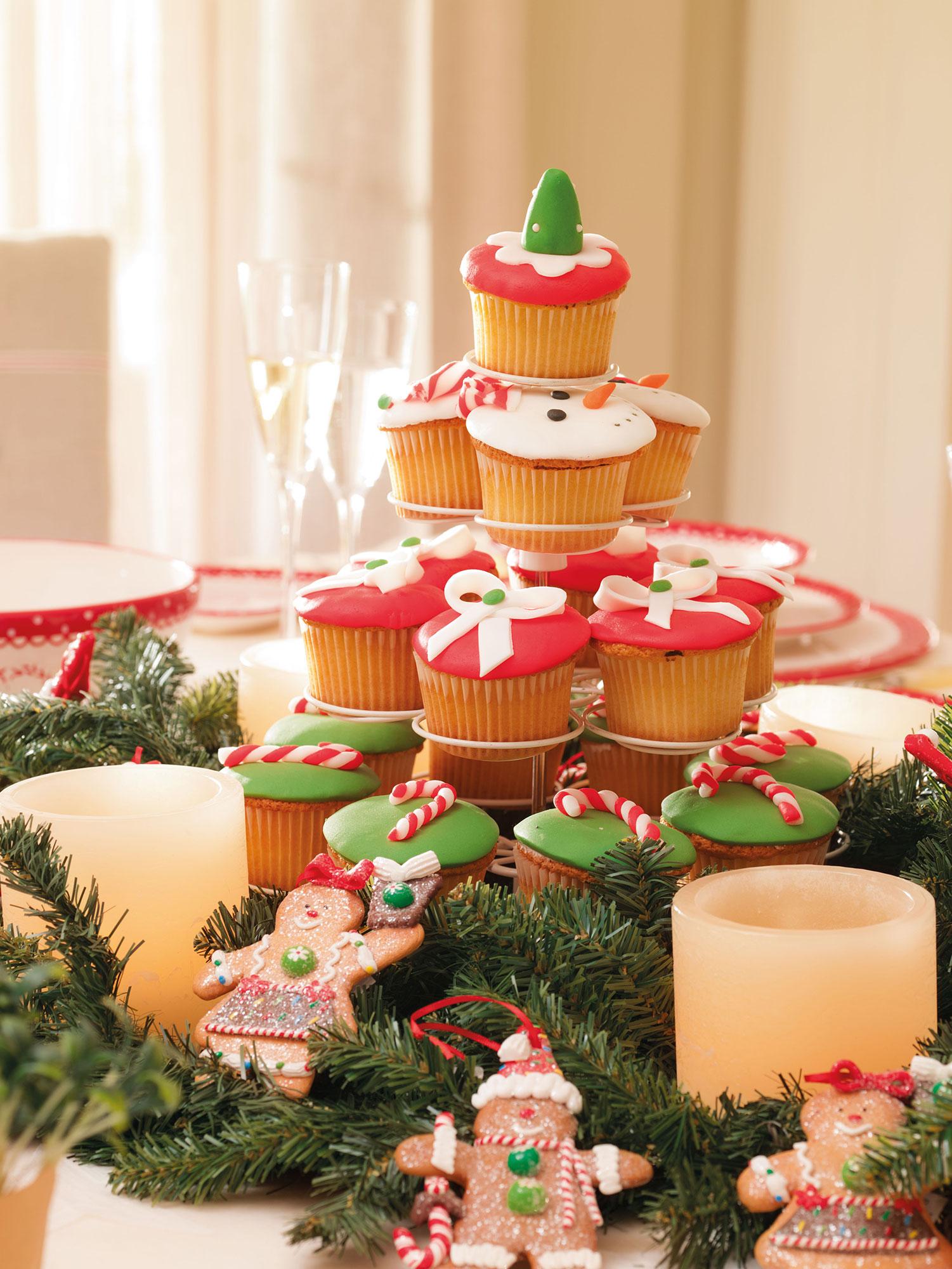 Decoraci n de navidad en rojo y verde 15 ideas para - Ideas originales decoracion navidad ...