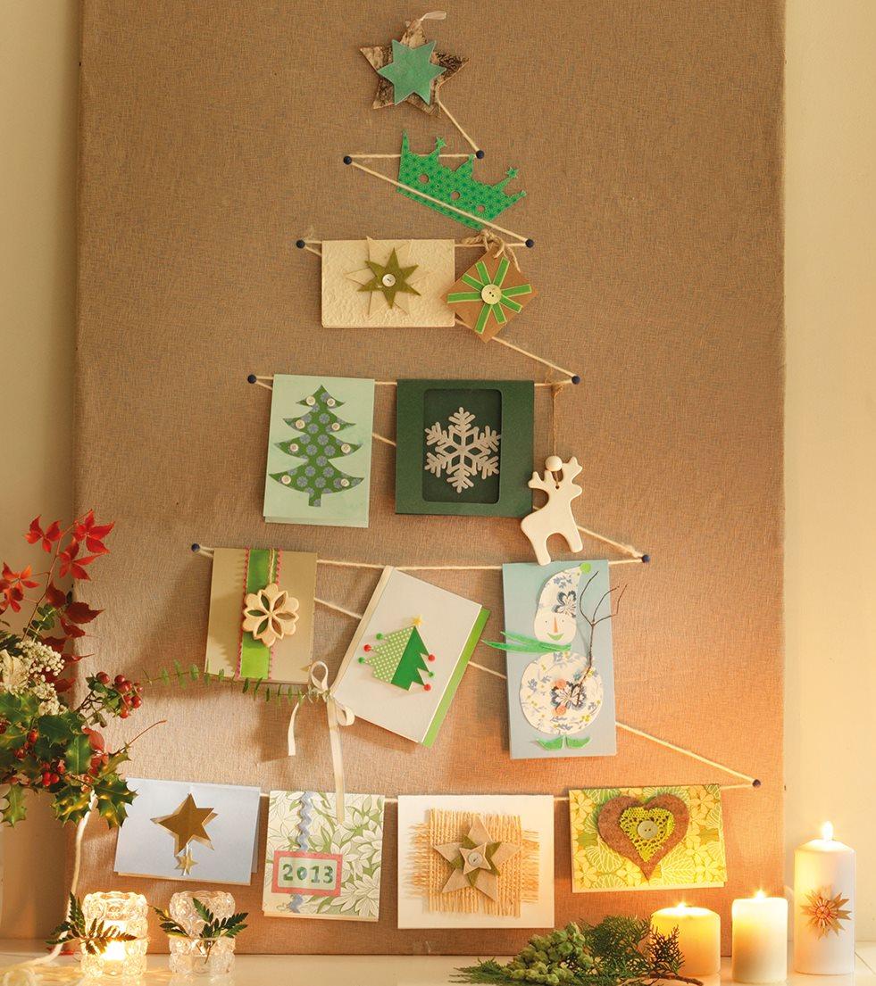 Best 28 arbol de navidad hecho en casa ideas diy para - Ideas originales para navidad ...