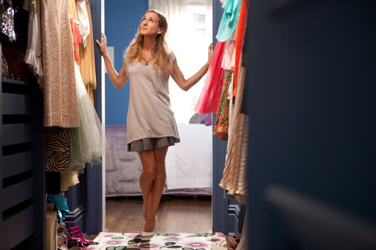 Inside-the-Carrie-Bradhsaw-Apartment (1). Carrie Bradshaw, de 'Sexo en Nueva York'.