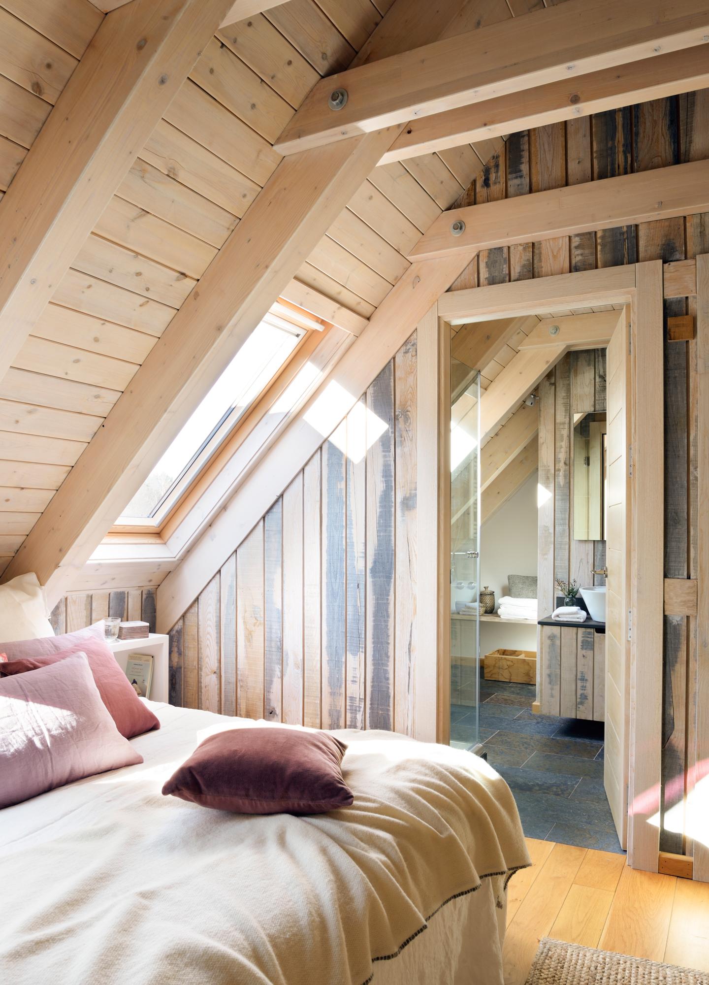 dormitorios en buhardillas