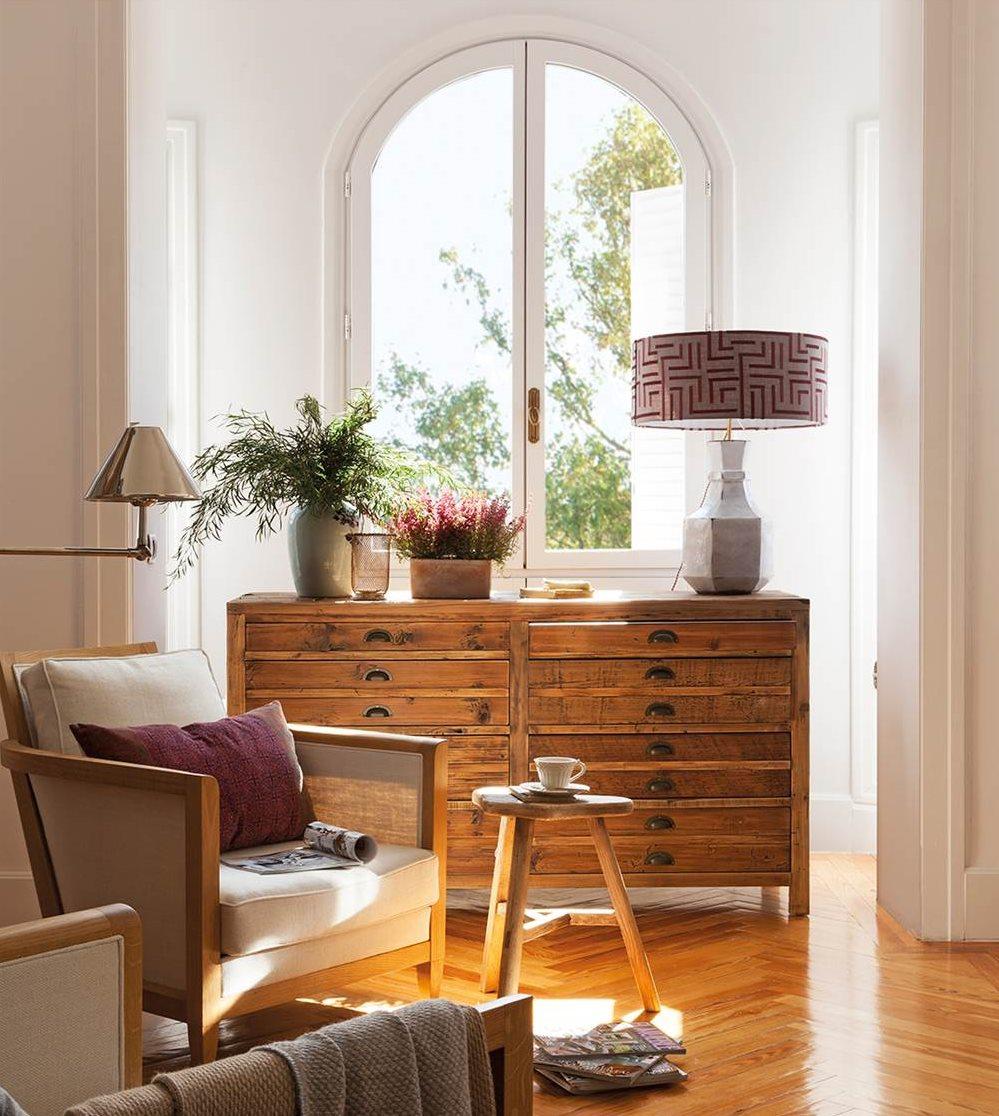 Muebles antiguos recuperados y restaurados for Decoracion de casas antiguas