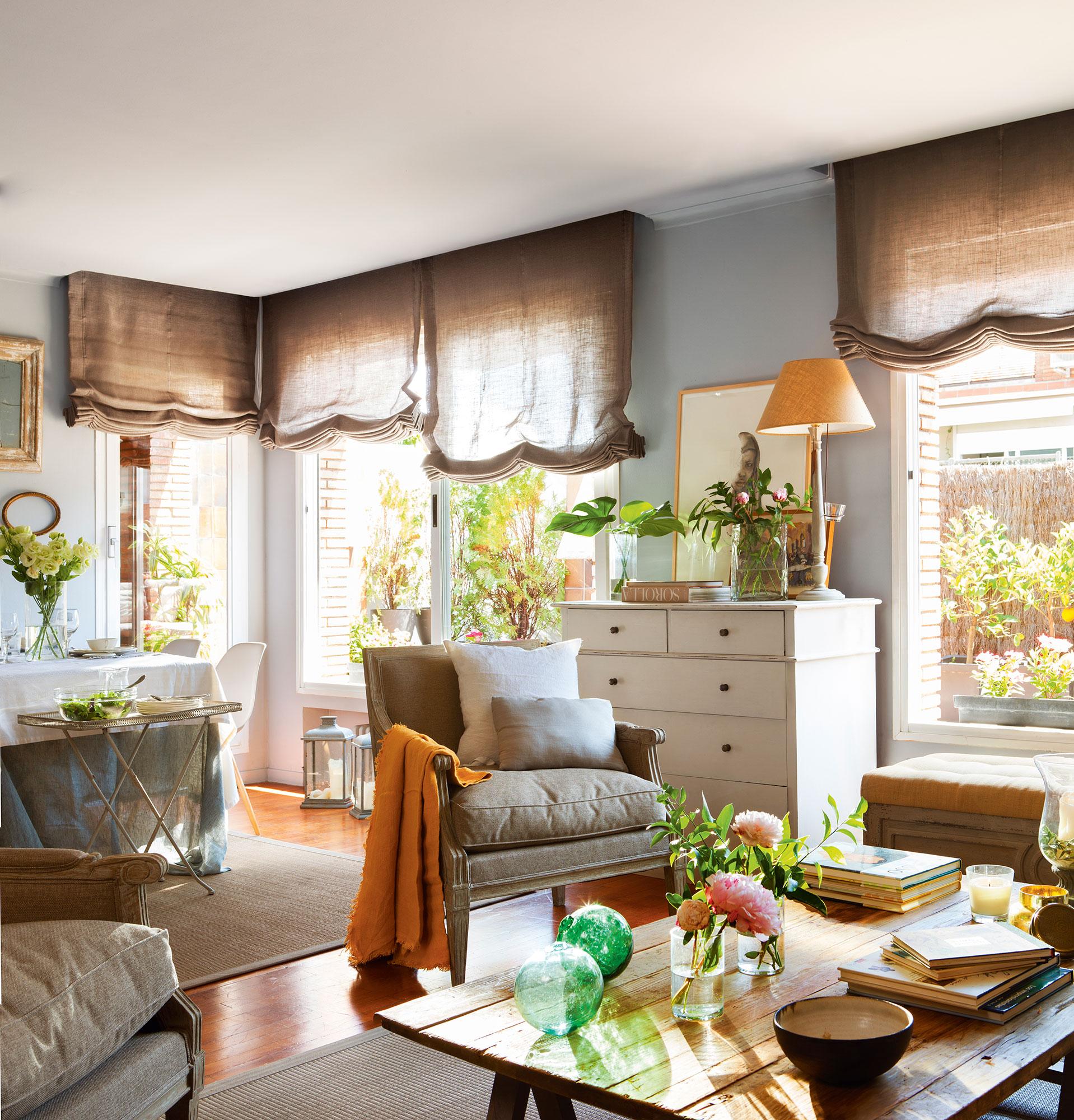 Ideas f ciles y baratas para renovar tu casa for Cortinas comedor baratas