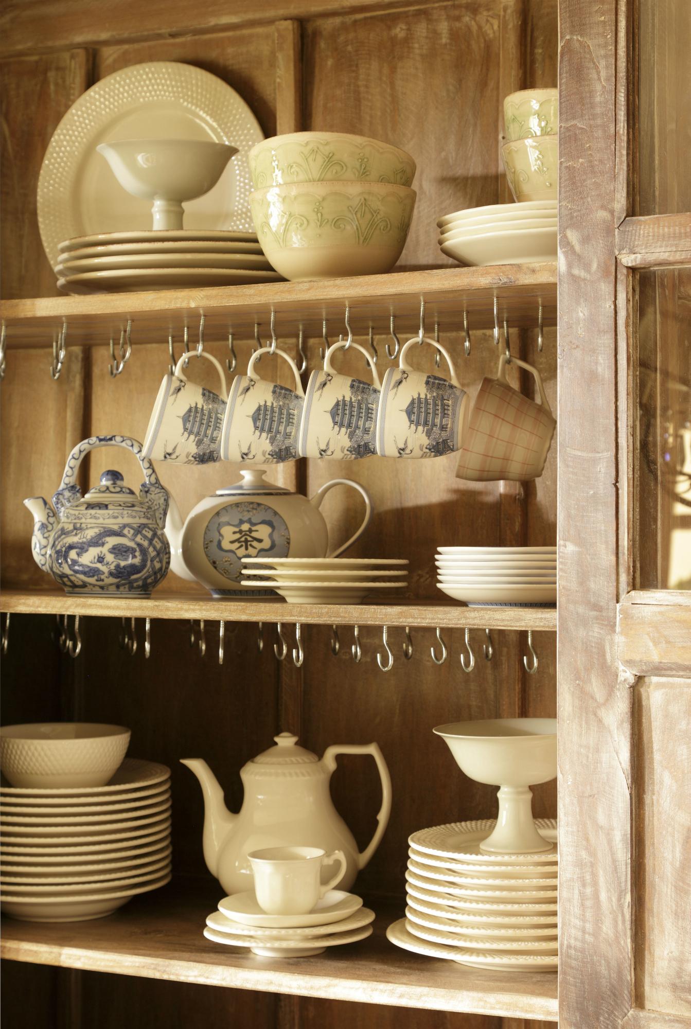 El Vajillero Perfecto Donde Guardar Y Ordenar Tu Vajilla Y Cristaler A # Muebles Vajilleros Antiguos