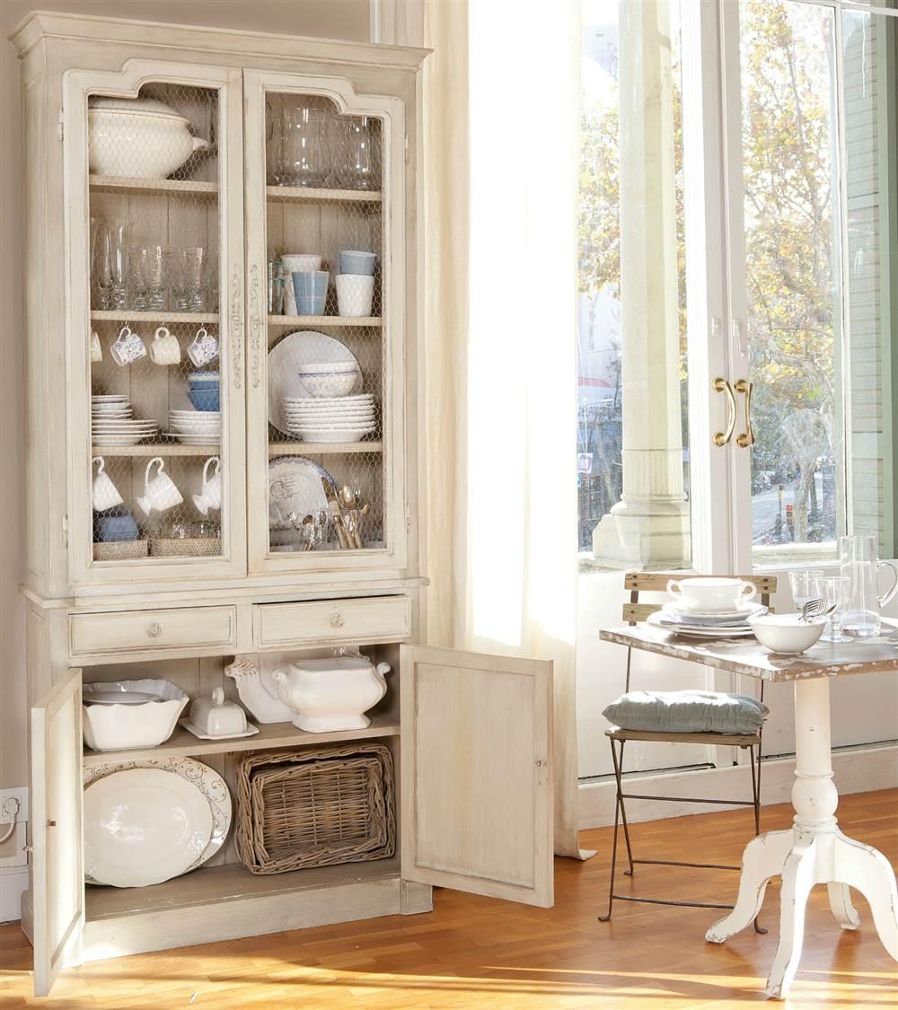 El vajillero perfecto donde guardar y ordenar tu vajilla y cristaler a - Muebles para vajilla ...