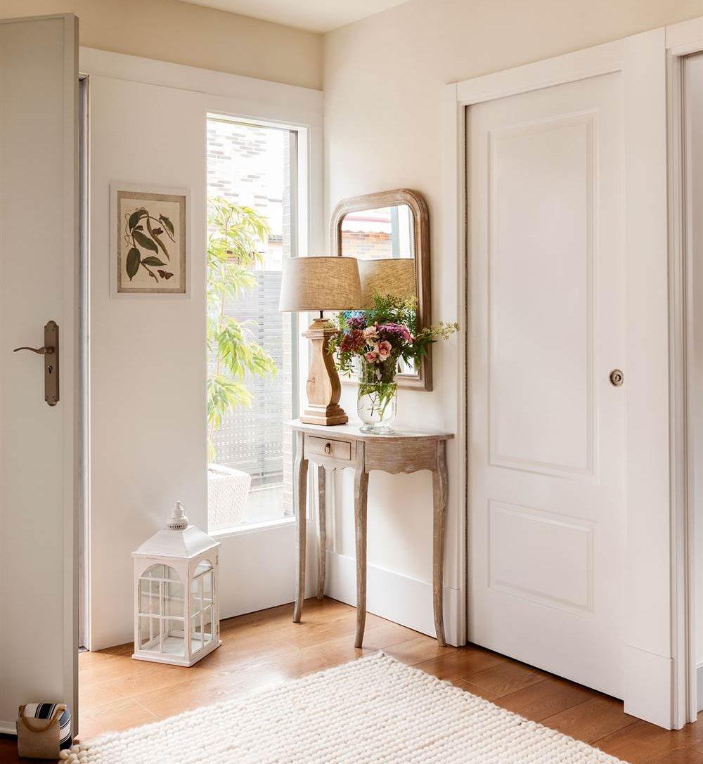 Recibidores y pasillos buenas ideas para decorarlos y for Espejos como decorarlos