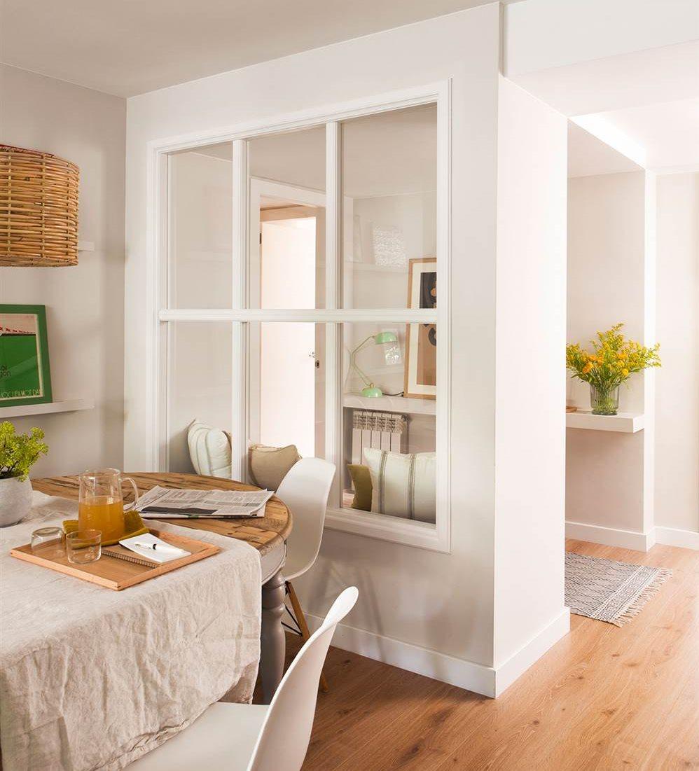 Recibidores y pasillos buenas ideas para decorarlos y - Cuadros para recibidor ...