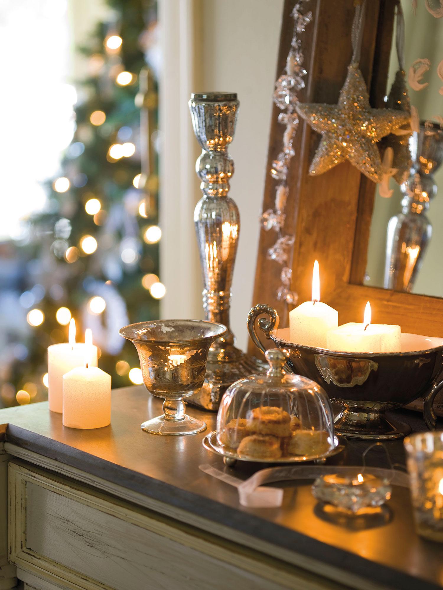 Detalles e ideas en plata para decorar tu casa esta navidad for Detalles decoracion casa