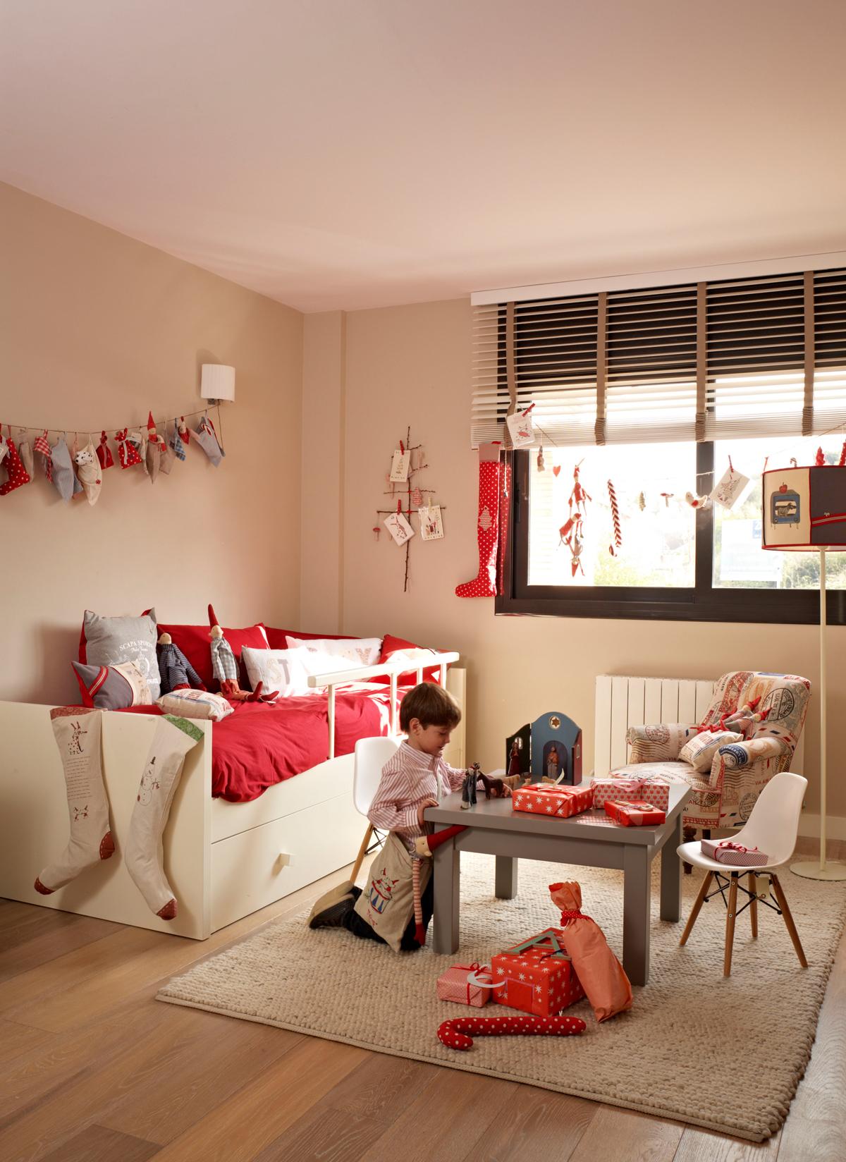 Adornos Decorar De Infantil Navidad La Para Habitación ywN0mnv8O