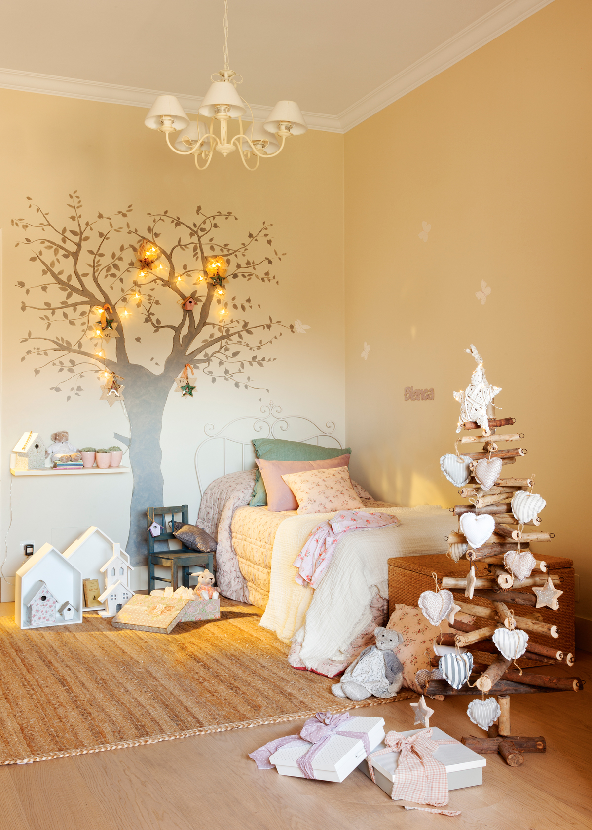 Adornos de navidad para decorar la habitaci n infantil for Para adornar fotos