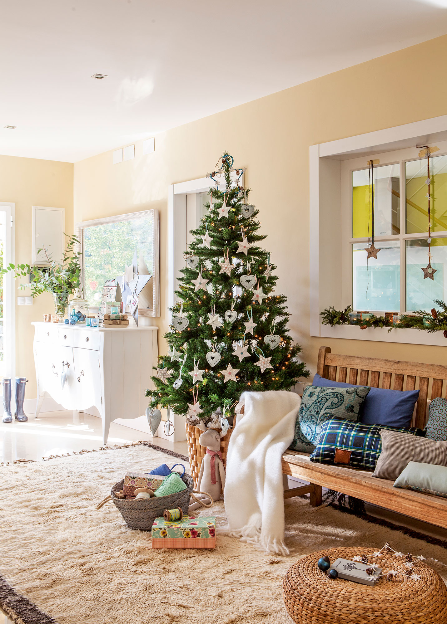 Decorar el rbol de navidad 15 propuestas de todos los - Imagenes de arboles navidad decorados ...
