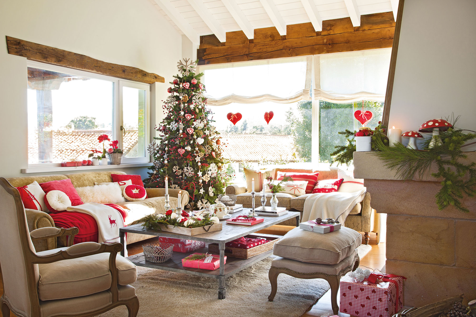 Decorar el rbol de navidad 15 propuestas de todos los estilos - Como decorar un arbol de navidad ...