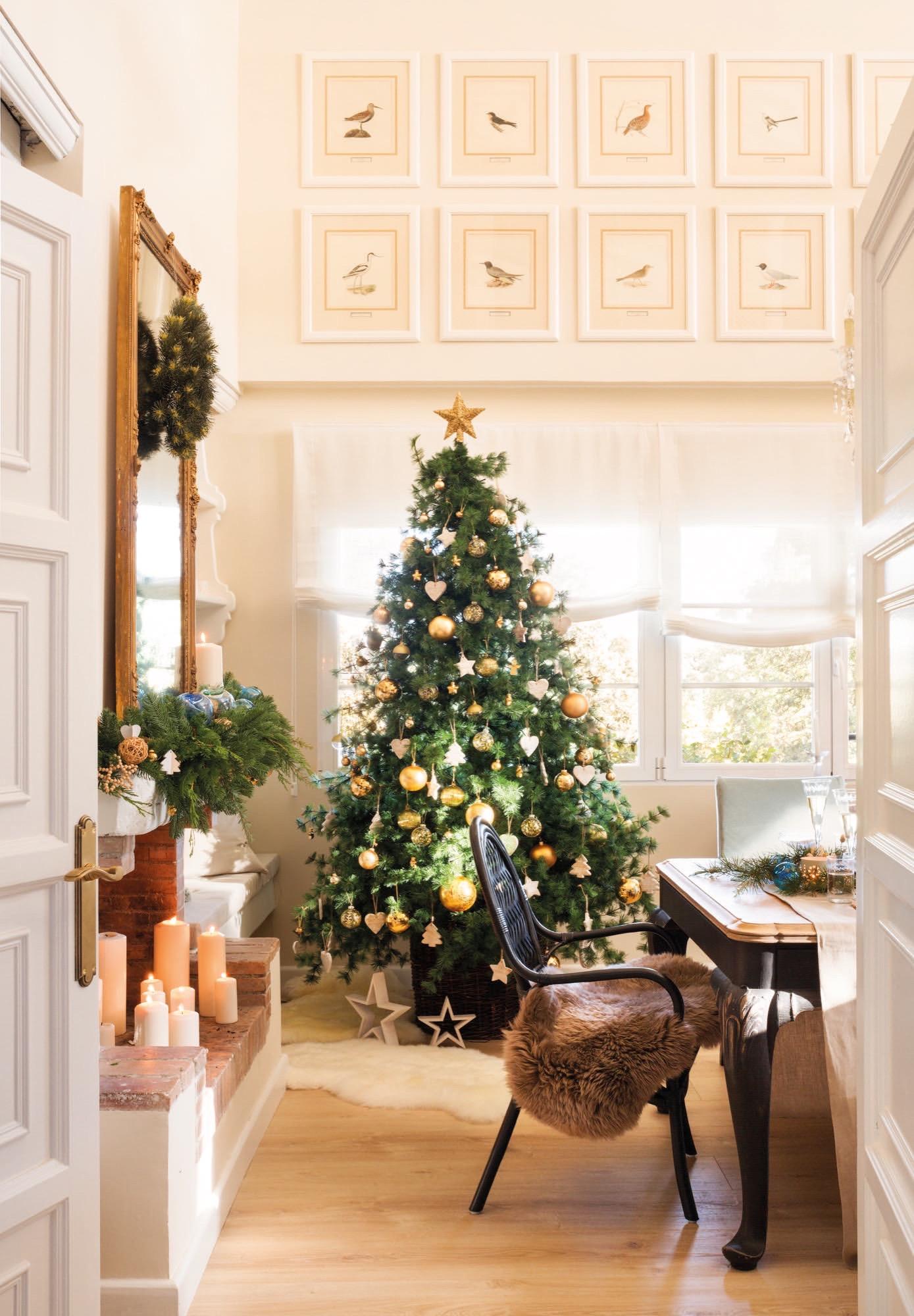 Navidad en casa de lorenzo meazza responsable de for Arbol navidad ratan
