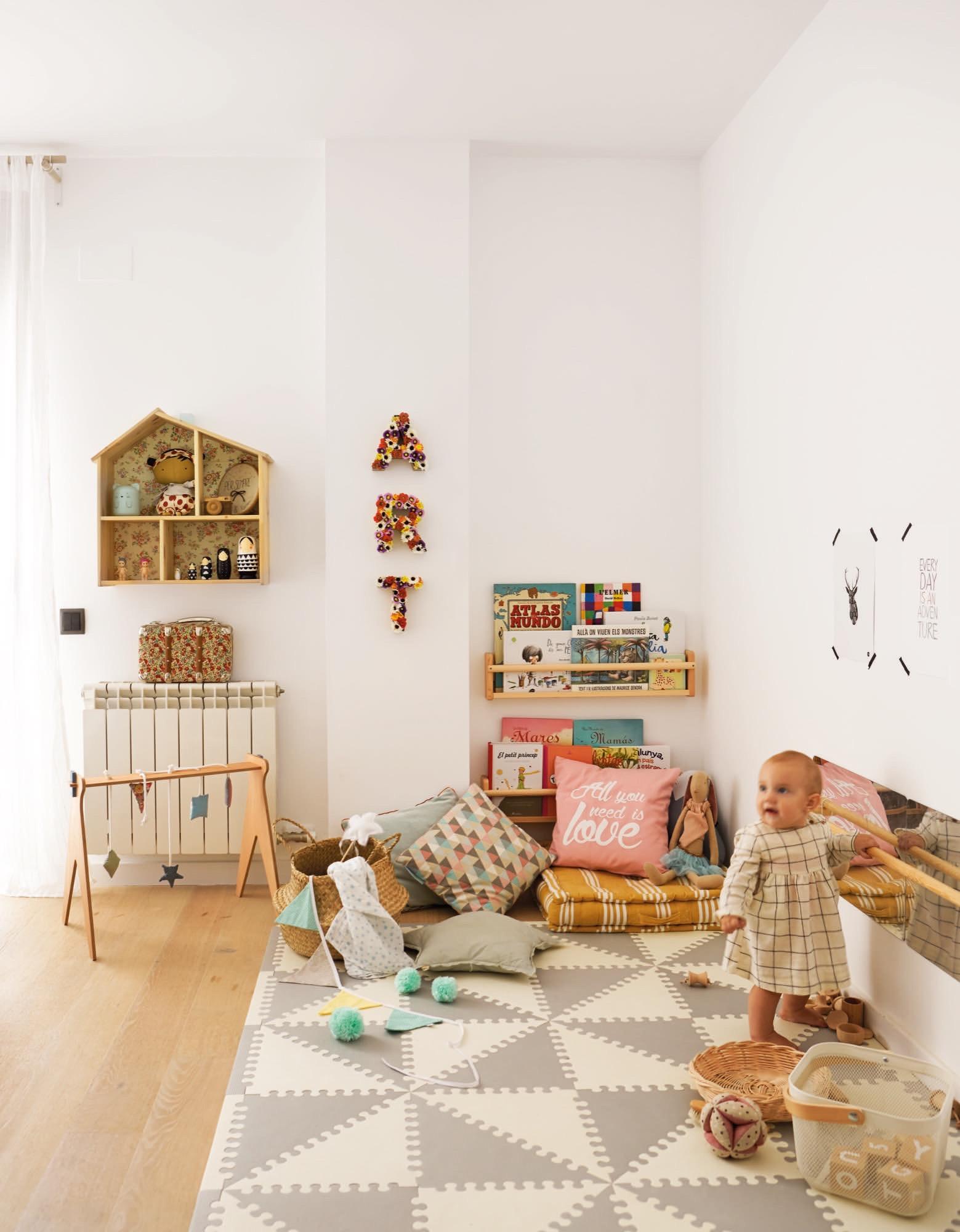 Habitacion De Juegos Infantil Podemos Para Crear Una Acogedora Zona