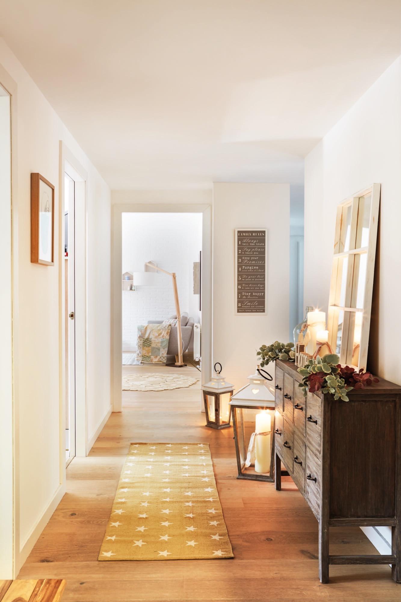 La bloguera estoreta nos ense a c mo prepara su casa en for Entrada de un piso feng shui