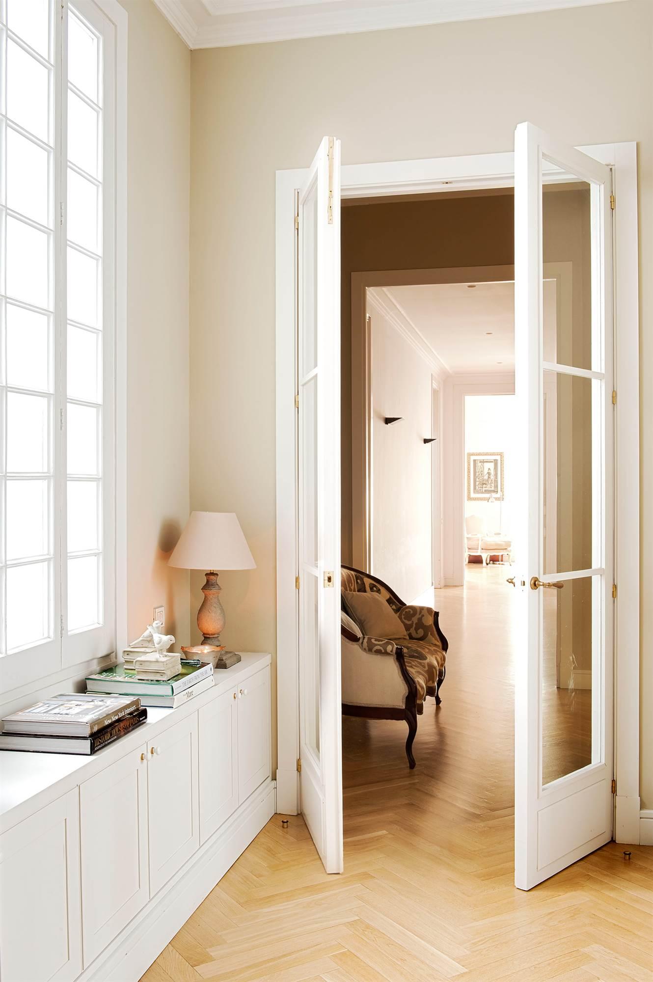 Ideas para decorar tu recibidor - Papel pintado para recibidores ...