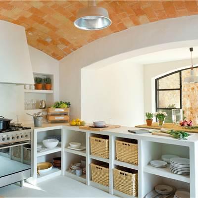 Muebles cocina - Cortinas para armarios sin puertas ...