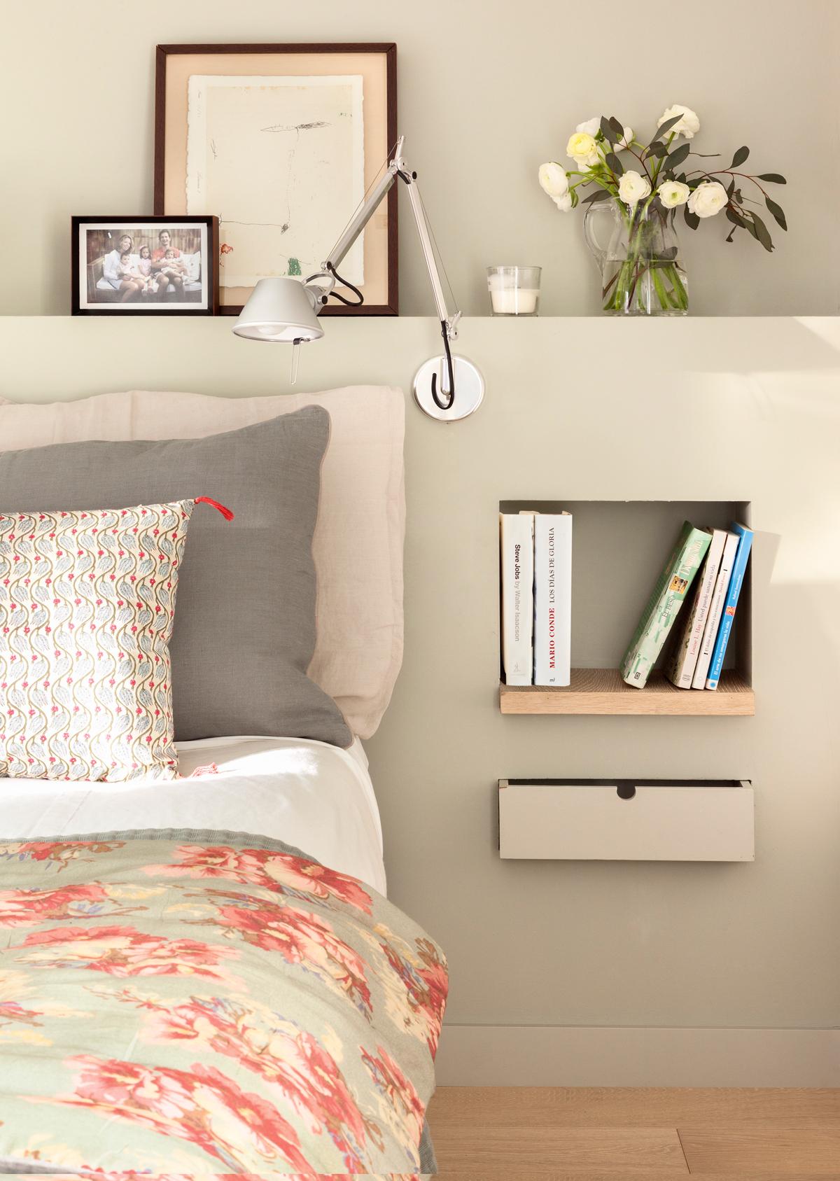 Hornacinas huecos decorativos y con espacio extra para - Cabeceros de obra ...