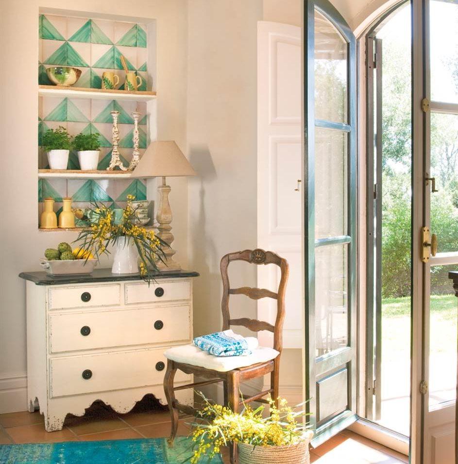 Hornacinas huecos decorativos y con espacio extra para - Baldas de pared ...