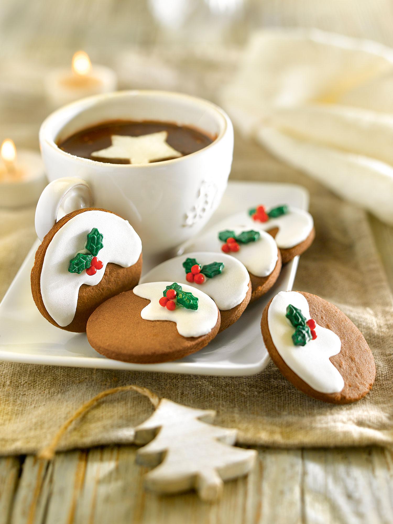 Galletas De Navidad Receta De Pastas De Cacao Nevadas