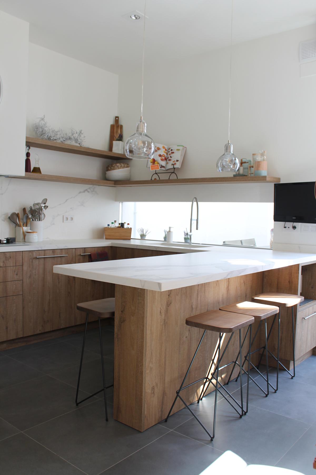 Pintar encimera de marmol cocina simple pintar campana de for Pintar encimera granito