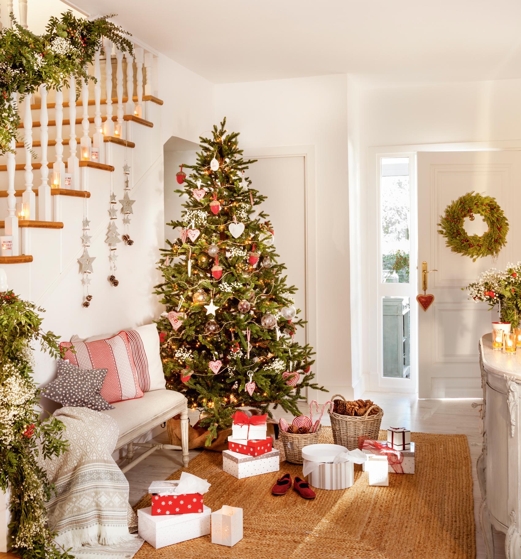 Decorar el rbol de navidad 15 propuestas de todos los - Ideas para decorar estrellas de navidad ...