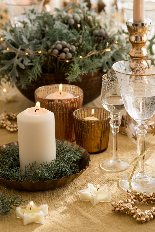 Mesas Decoradas Para Celebrar La Navidad - Mesas-de-navidad-decoradas
