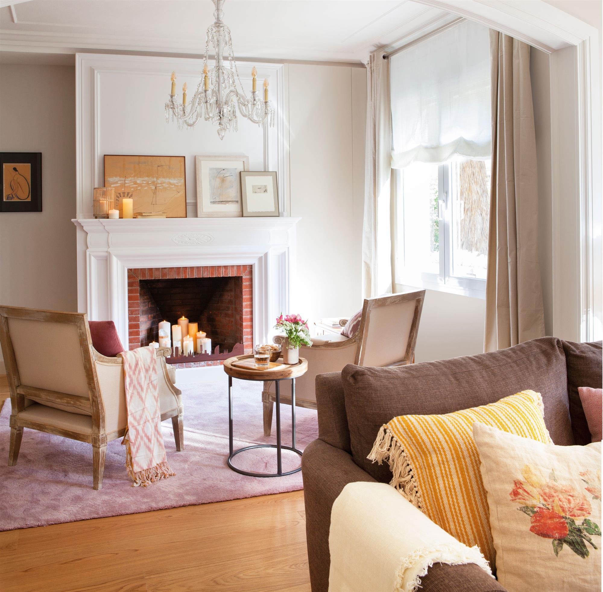 Ventajas de tener una chimenea en casa - Decoracion chimeneas salon ...
