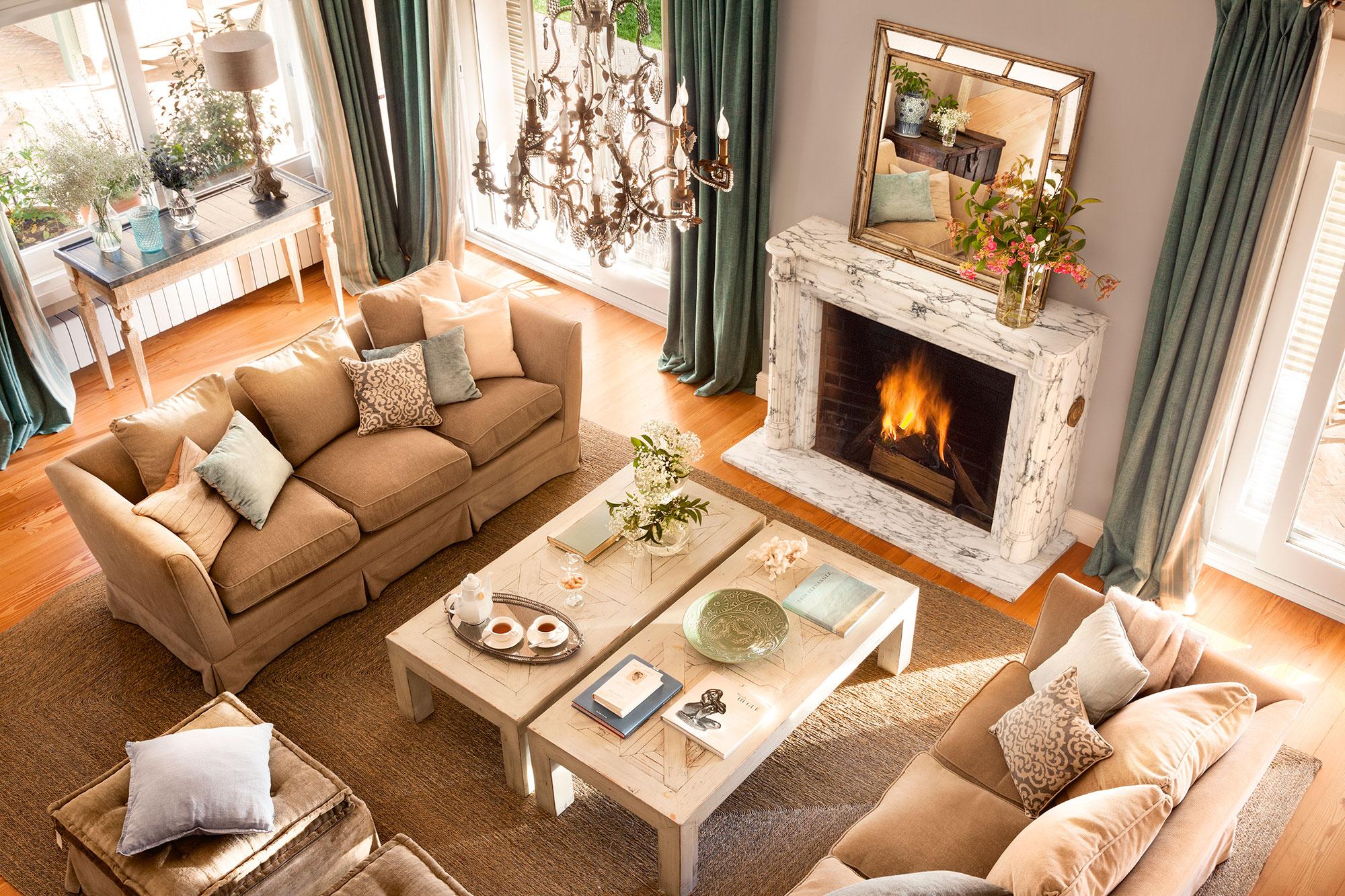 Mesas de centro for Ideas para decorar la casa facil y economico