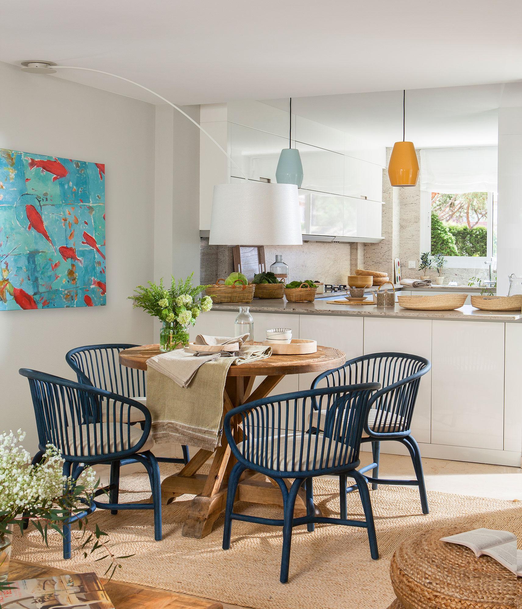 Sillas rusticas para comedor terraza sillas mesa pulido for Sillas comodas comedor