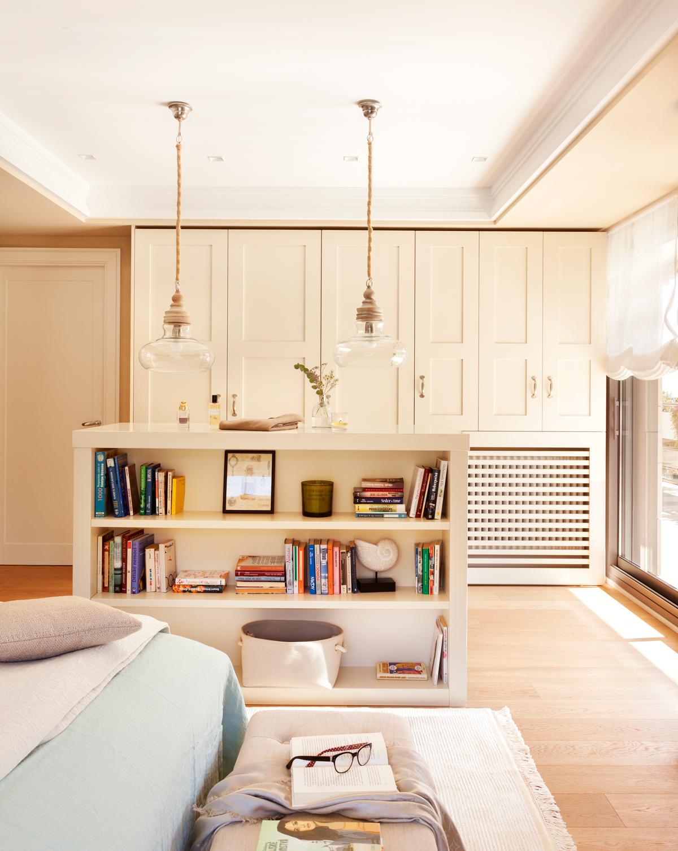 Muebles vers tiles con doble funci n ideales para espacios peque os - Lampara estanteria ...