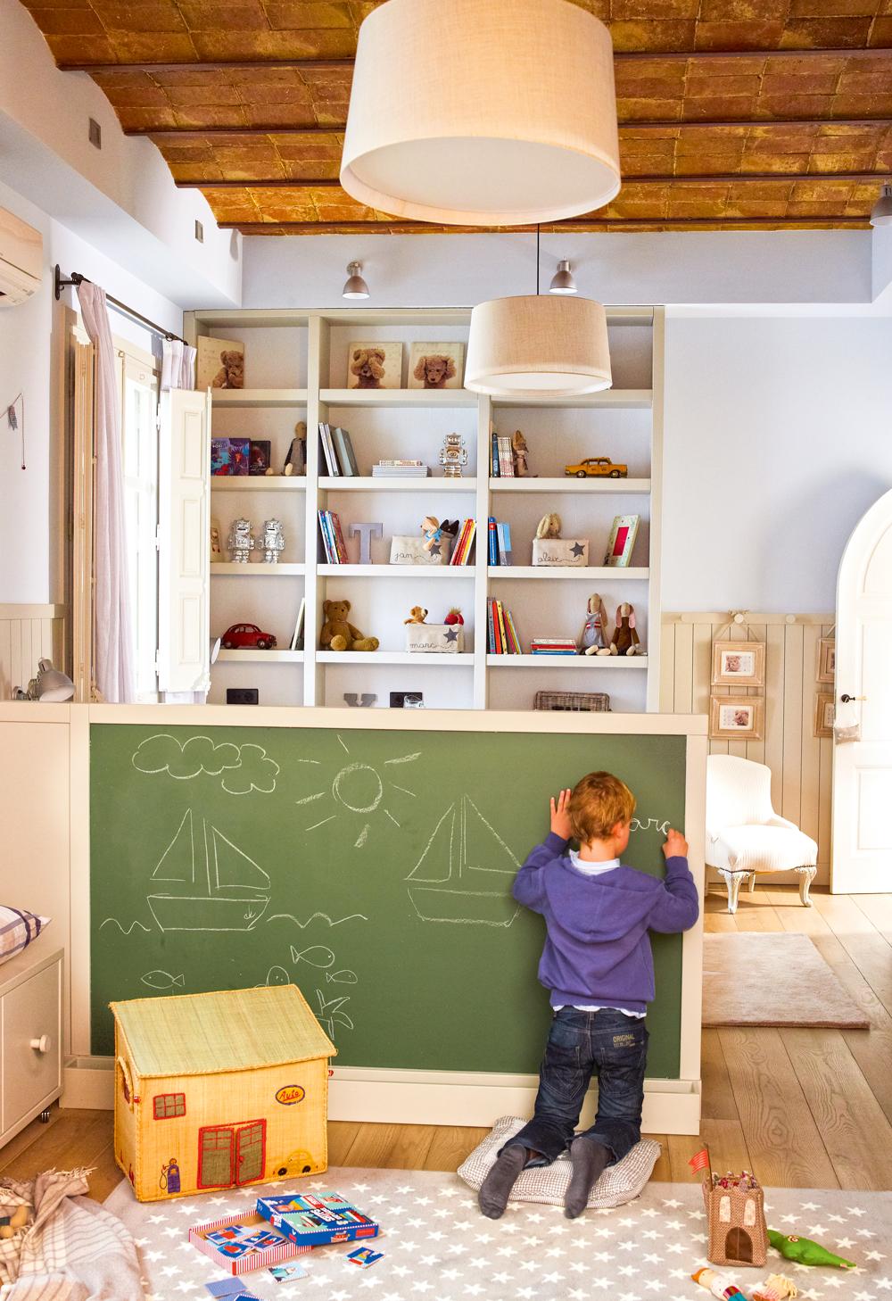 30 habitaciones de juegos para todas las edades - Muebles almacenaje ninos ...