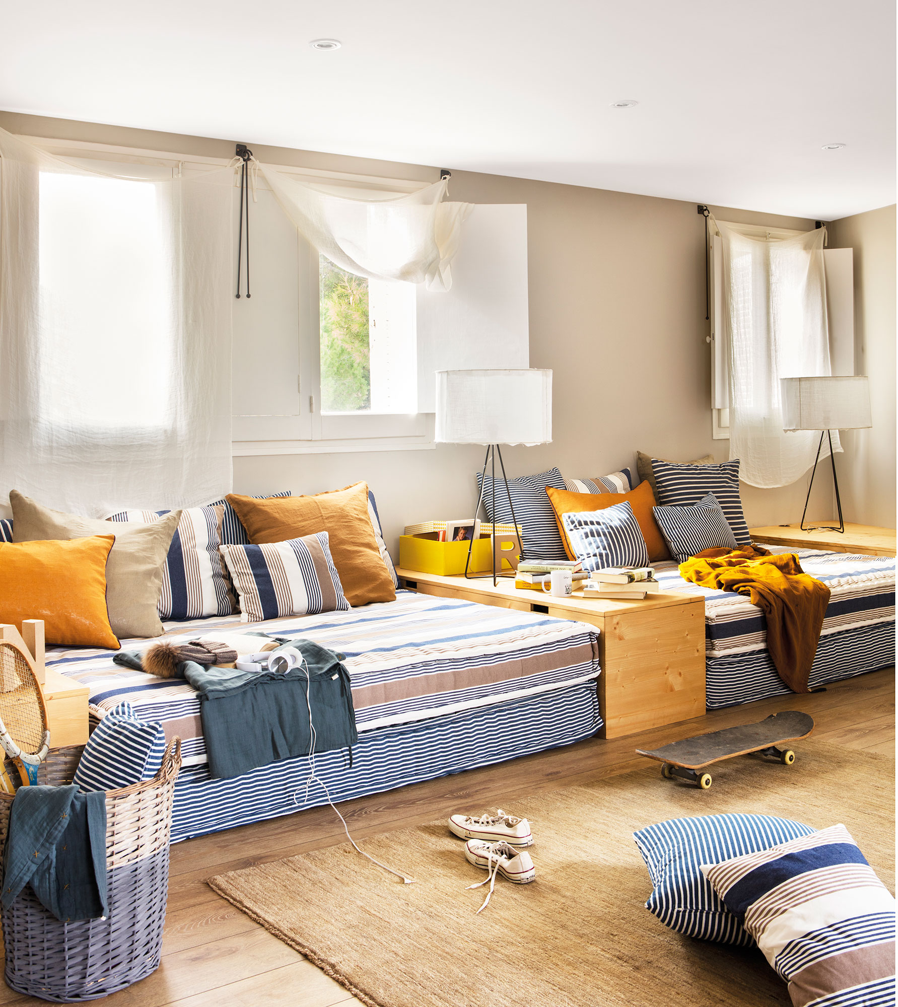 El Mostaza Est De Moda Buenas Ideas Para Decorar Con Este Color # Muebles Color Mostaza