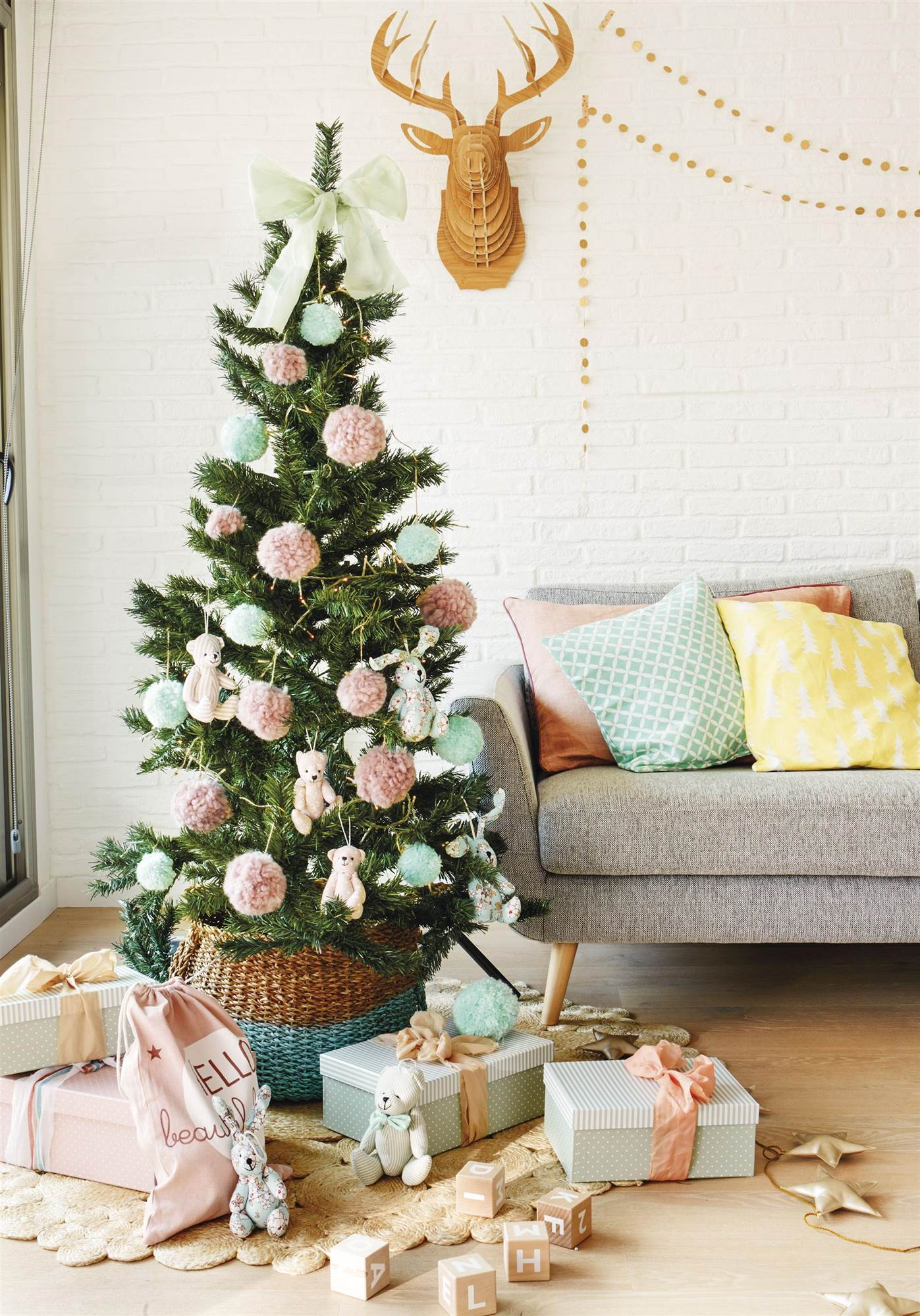 Una pizca de hogar c mo decorar tu rbol con objetos diy - Adornar la casa en navidad ...