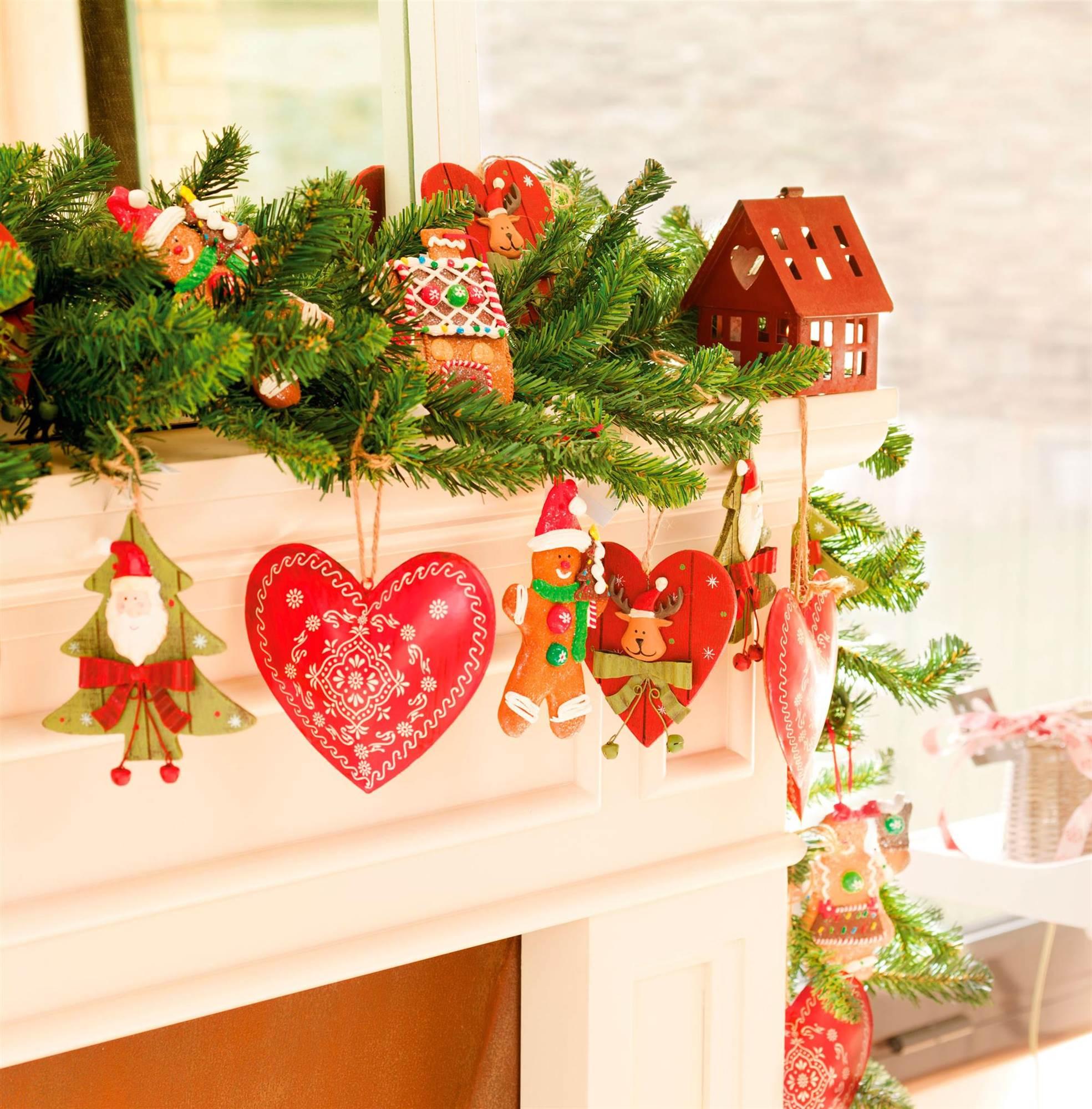 Casa Decorada Para Navidad ~ Crismas De Navidad Hechos Por  Ninos