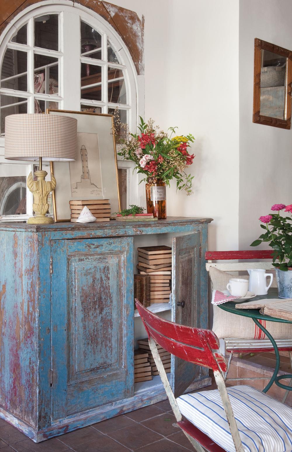 Muebles Pintados Gana Vida Y Color # Como Secar Muebles Mojados