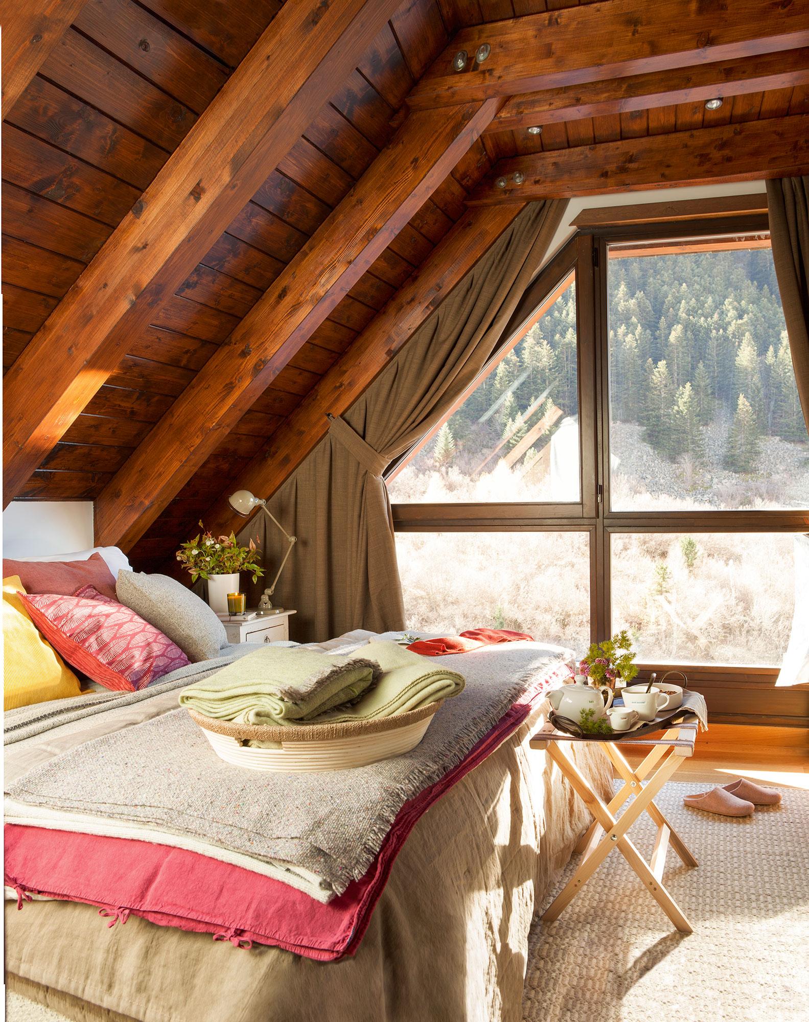 15 dormitorios r sticos decorativos y con buenas ideas - Decoracion habitacion rustica ...