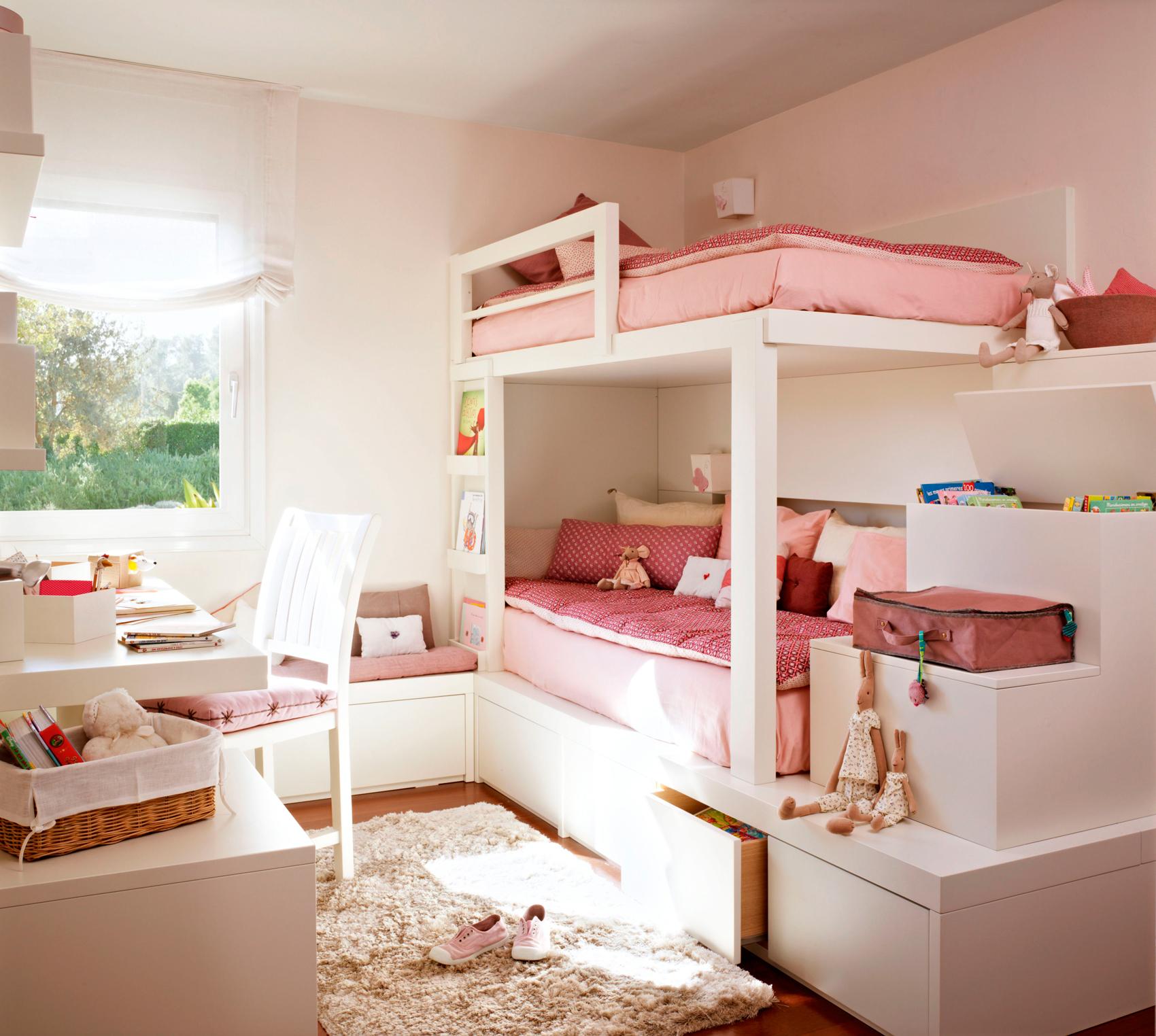 Gana espacio como por arte de magia en el cuarto de los peques - Muebles para almacenaje ...