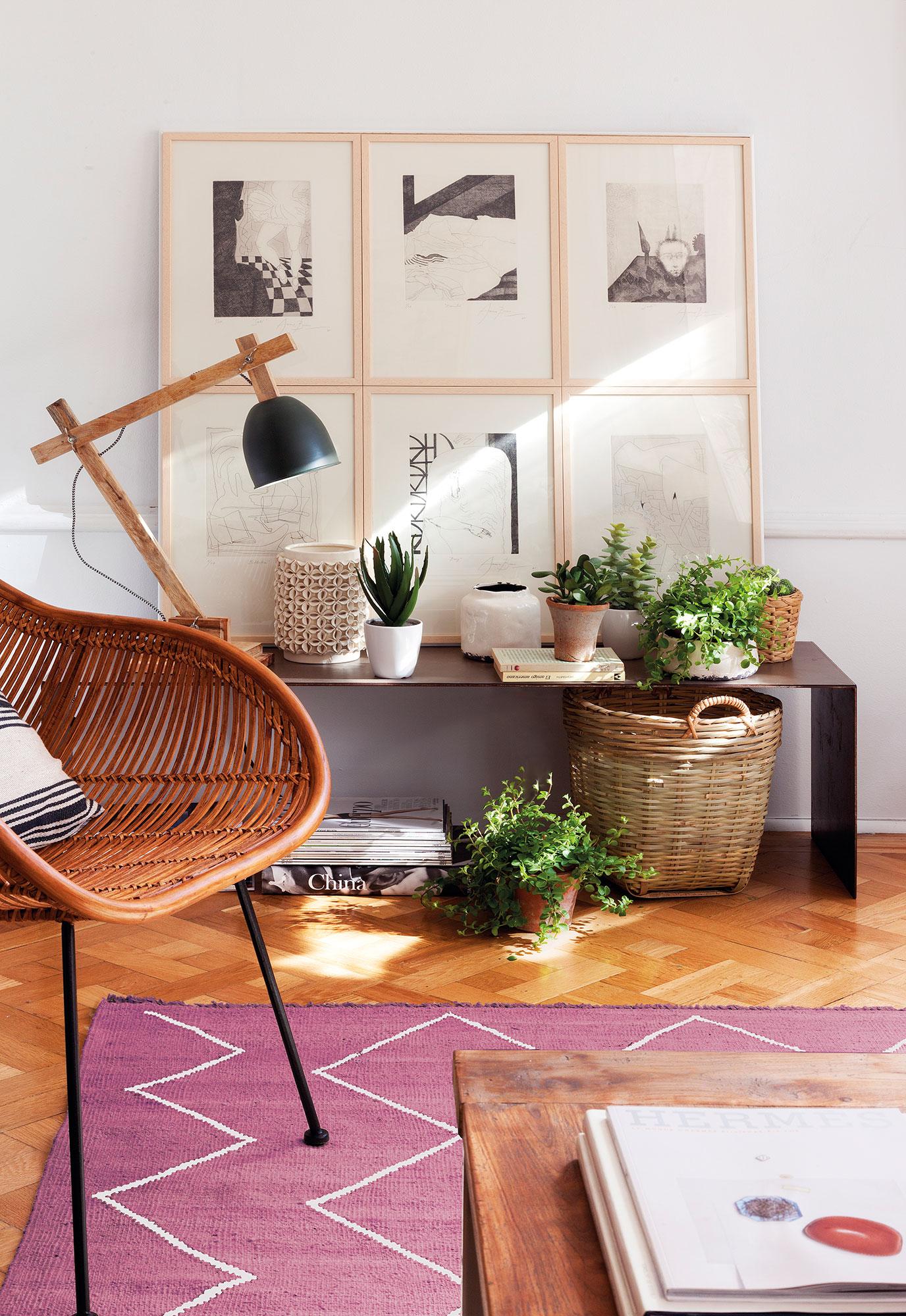 10 cosas que no puedes tener en casa despu s de los 30 for Maceteros para salon