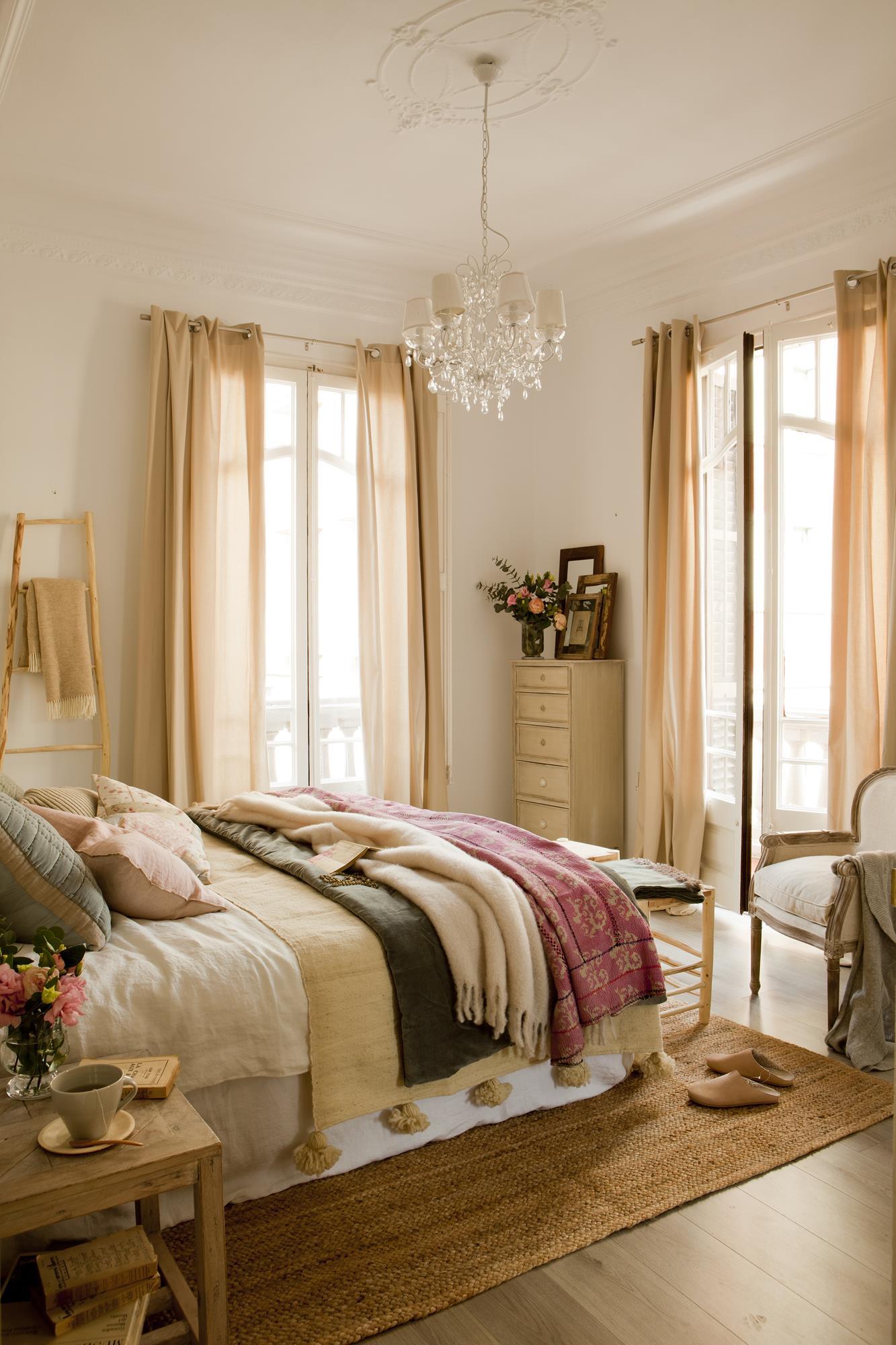 C mo hacer de tu piso urbano un interior r stico - Color marfil en paredes ...
