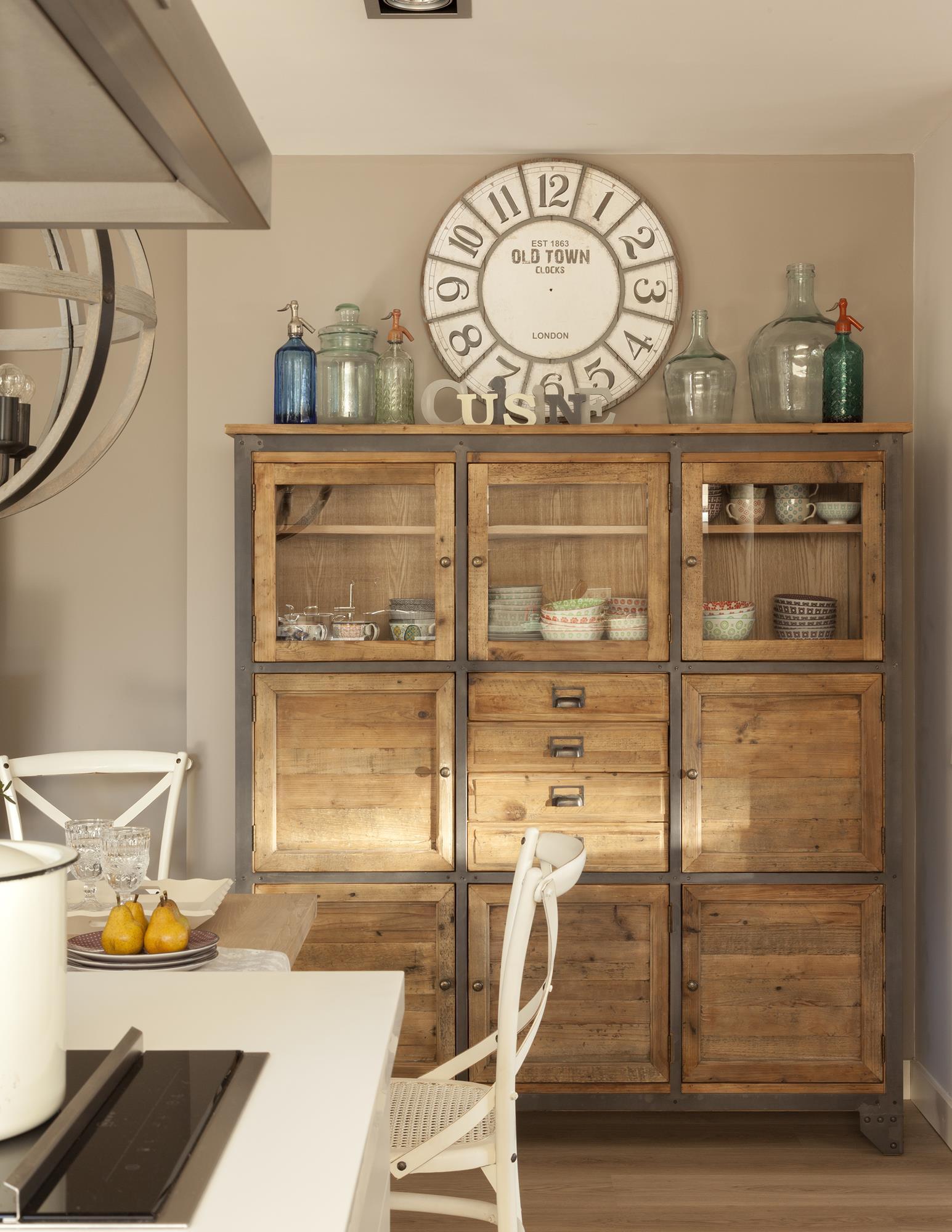 C mo hacer de tu piso urbano un interior r stico - Tinte para madera casero ...